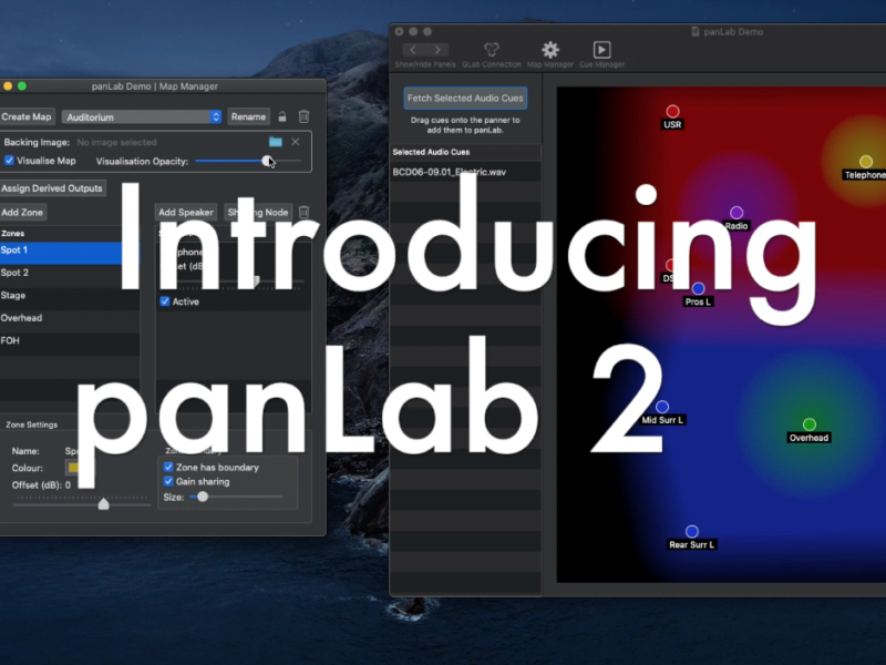 Innovate Audio Launches panLab 2